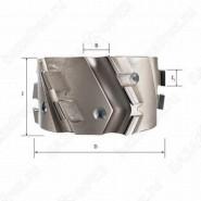 Фреза алмазная прифуговочная для кромкооблицовочных станков D=100x30x48 LH Rotis 225.10030484DL