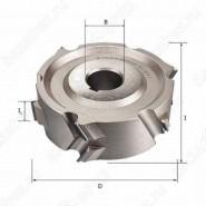 Фреза алмазная прифуговочная для кромкооблицовочных станков D=125x30x40 LH Rotis 225.12530403DL