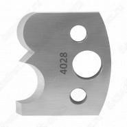 Нож профильный 40mm для насадной фрезы 6 Rotis 40034028