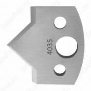 Нож профильный 40mm для насадной фрезы 7 Rotis 40034035