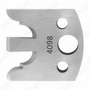 Нож профильный 40mm для насадной фрезы 10 Rotis 40034098
