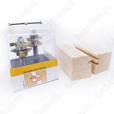 Комплект 2 фрезы для мебельной обвязки ARDEN 409272A/409272B