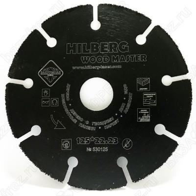 Диск пильный по дереву с гвоздями Hilberg Super Wood 530076 (76*22,23*T)