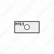 Нож прямой (T15201) для 1472516512 ROTIS 744.T15201