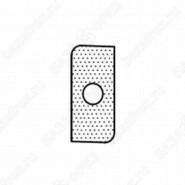 Нож внешний радиус R4 (T19206) для 1472516512 ROTIS 744.T19206