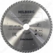 Диск пильный по металлу Hilberg Industrial Металл HF250 (250*30*60T)