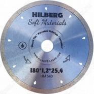 Диск алмазный по керамике Hilberg Hyper Thin HM540 180мм