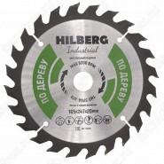 Диск пильный по дереву Hilberg Industrial Дерево HW165 (165*20*24T)