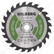 Диск пильный по дереву Hilberg Industrial Дерево HW185 (185*20/16*24T)