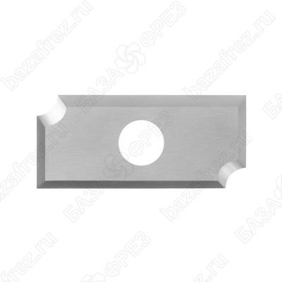 Нож твердосплавный радиусный Tideway R220915 R2 20x9x1.5
