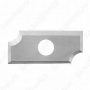 Нож твердосплавный радиусный Tideway R320915 R3 20x9x1.5