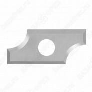 Нож твердосплавный радиусный Tideway R635251215 R6.35 25x12x1.5