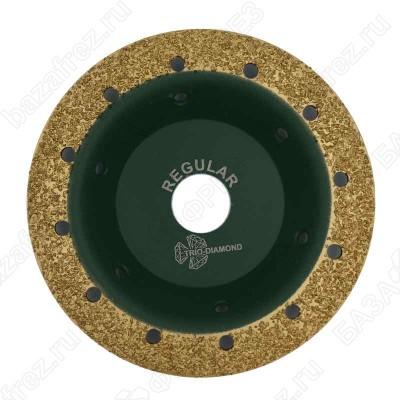 Чашка твердосплавная Trio-Diamond Grand 390003 125мм плоская шаг 3 Regular