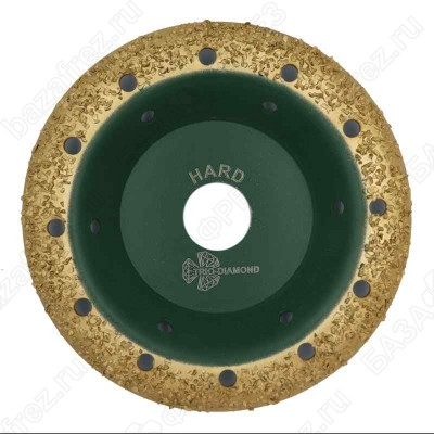 Чашка твердосплавная Trio-Diamond Grand 390102 125мм круглая шаг 2 Hard