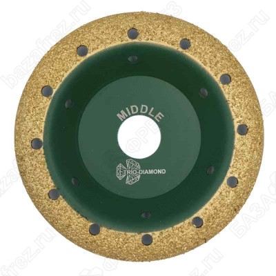 Чашка твердосплавная Trio-Diamond Grand 390104 125мм круглая шаг 4 Middle