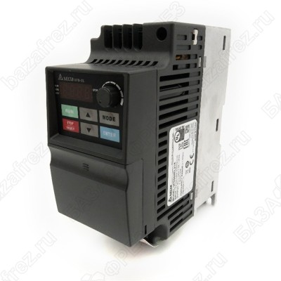 Преобразователь частоты DELTA ELECTRONICS VFD002EL21A (0.2кВт 220В)